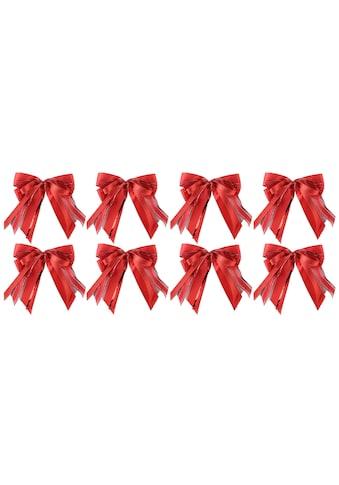 PRÄSENT Weihnachtsbaumschleife (8 - teilig) kaufen