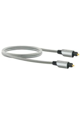 Schwaiger Toslink Kabel, Lichtwellenleiter mit vergoldeten Metallsteckern »mit... kaufen