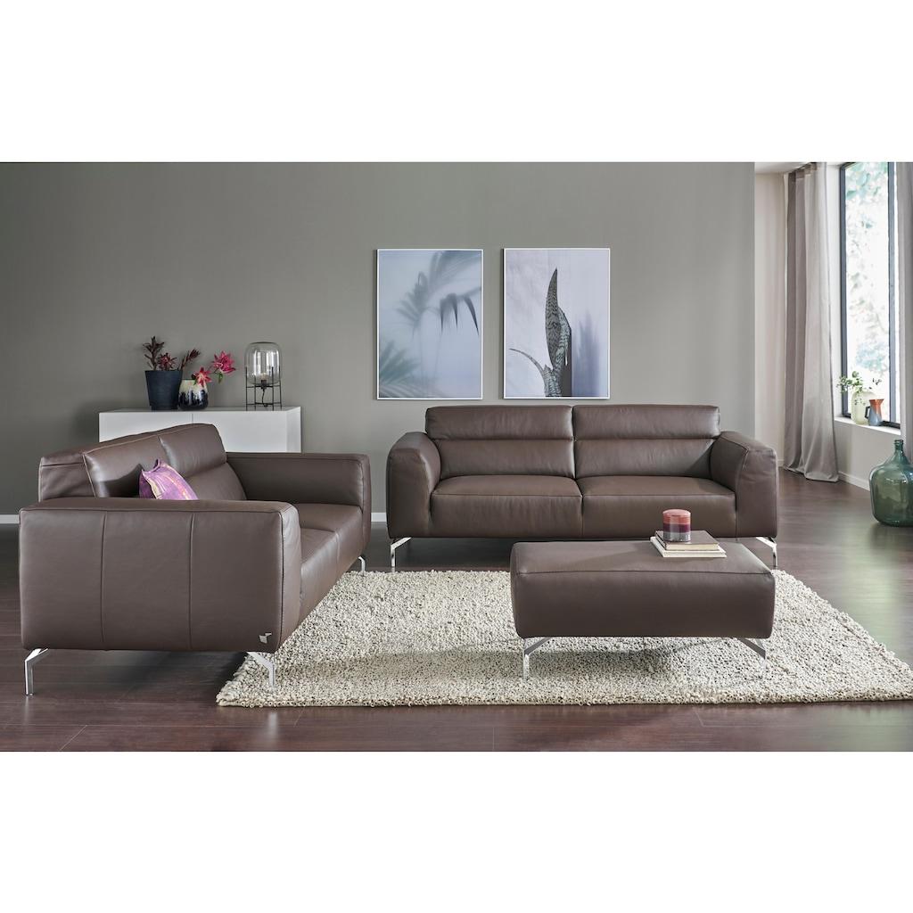 CALIA ITALIA 2-Sitzer »Soho«, in zwei Lederqualitäten