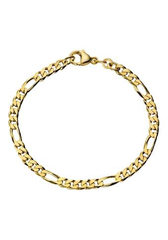 Firetti Goldarmband »in Figarokettengliederung, 4,3 mm« kaufen