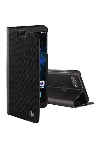 "Hama Booklet ""Slim Pro"" für Huawei Y6 (Prime) 2018/Honor 7A »Schwarz« kaufen"