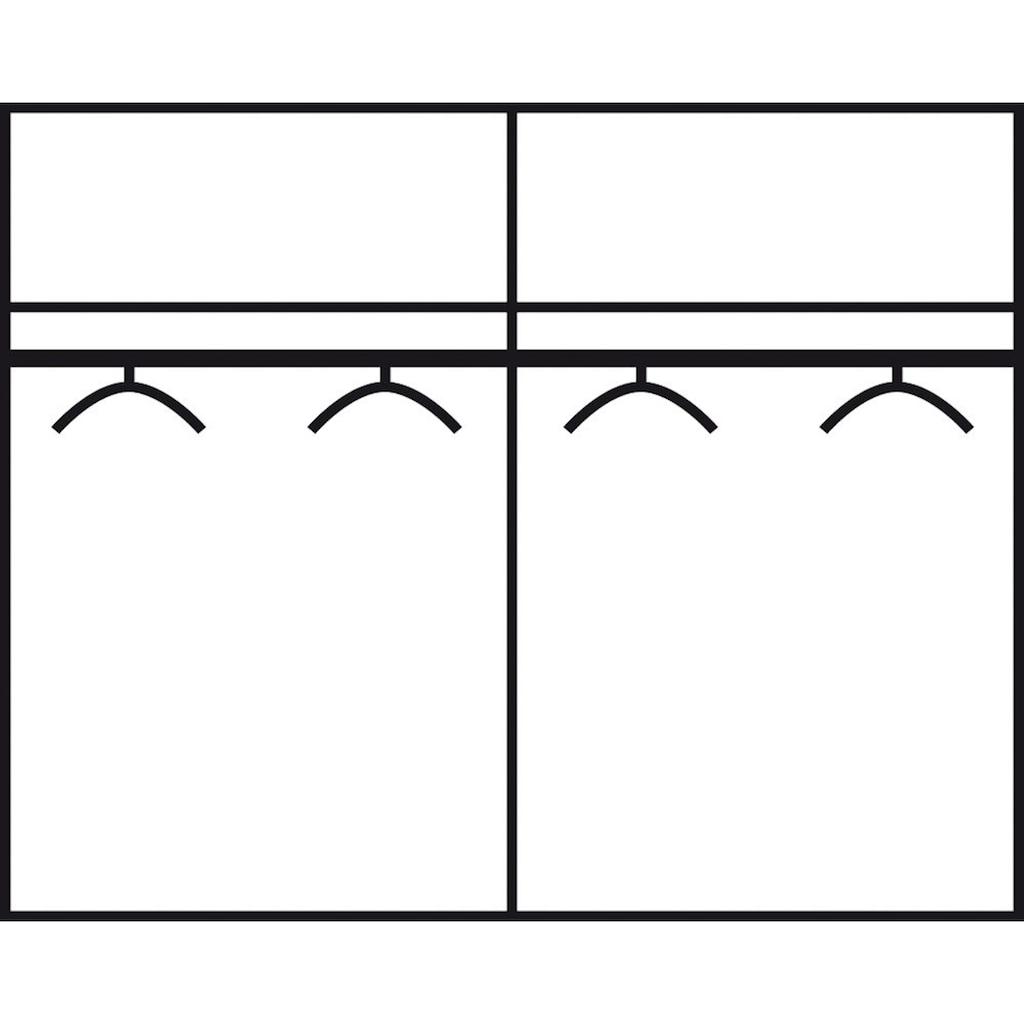 rauch BLUE Schlafzimmer-Set »Rubi«, (Set, 4 St.), mit Schrank, Bett 180x200 cm und 2 Nachttischen