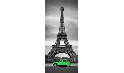 PAPERMOON Fototapete »Paris  -  Türtapete«, BlueBack, 2 Bahnen, 90 x 200 cm kaufen