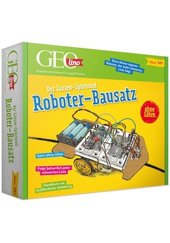 Franzis Modellbausatz »GEOlino, Roboter-Bausatz Linienspürhund«, zum Stecken kaufen
