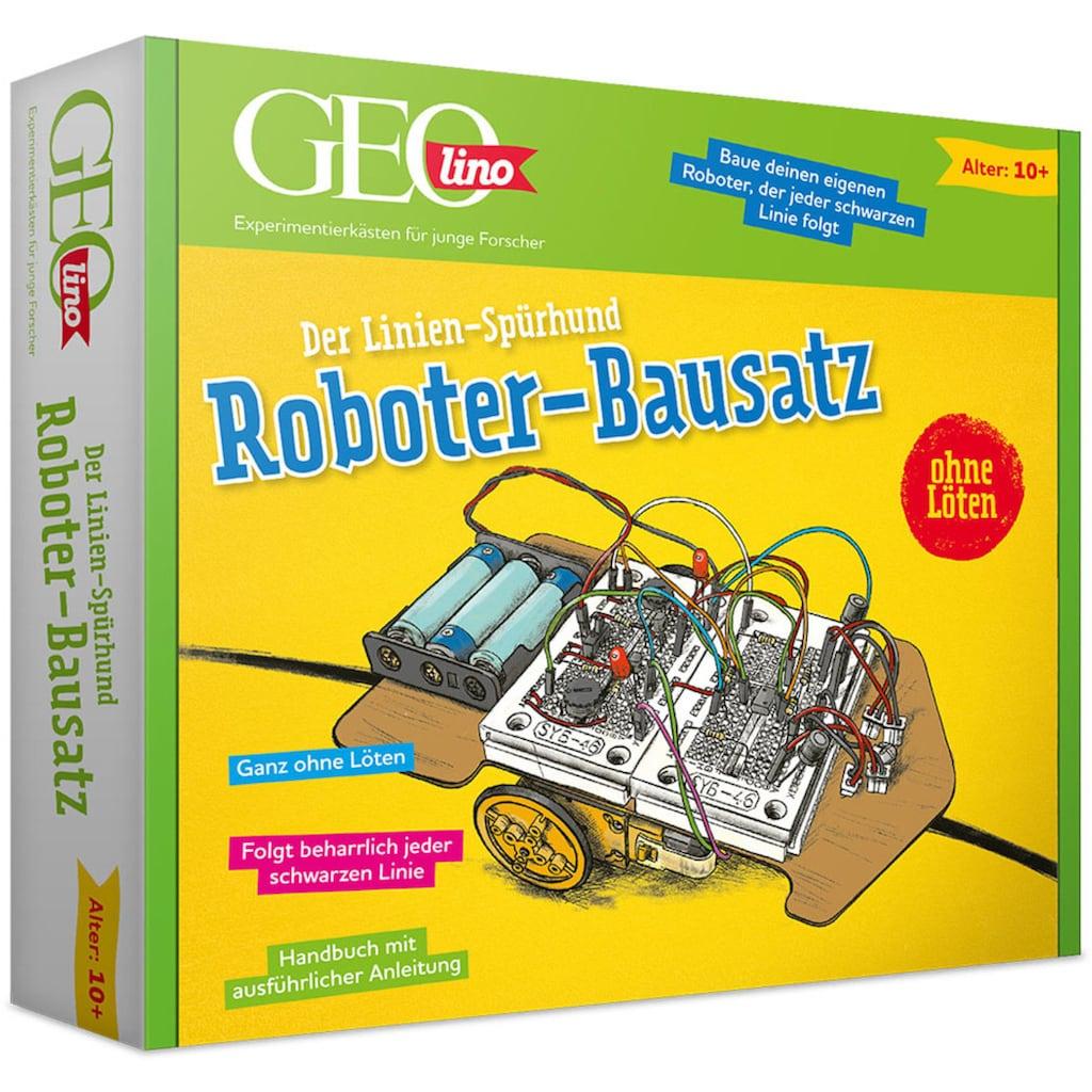 Franzis Modellbausatz »GEOlino, Roboter-Bausatz Linienspürhund«, zum Stecken