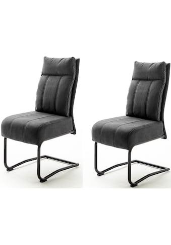 MCA furniture Freischwinger »Azul«, mit Taschenfederkern, Stuhl bis 120 Kg belastbar kaufen