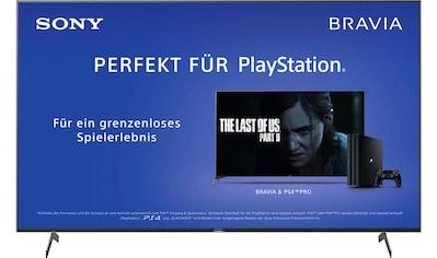 Sony KD75XH8096 Bravia LED - Fernseher (189 cm / (75 Zoll), 4K Ultra HD, Android TV kaufen