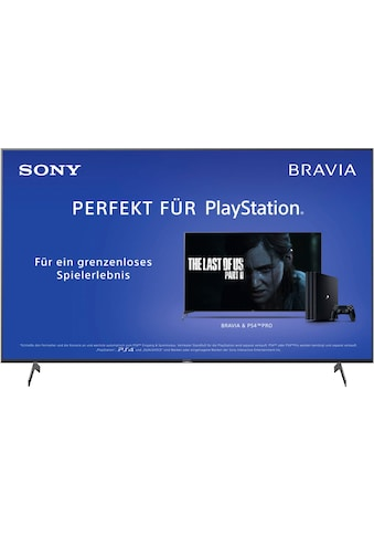 Sony KD75XH8096 Bravia LED - Fernseher (189 cm / (75 Zoll), 4K Ultra HD, Android TV kaufen