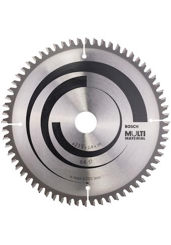 BOSCH Kreissägeblatt »Multi Material«, 235 x 30/25 x 2,4 mm; 64 kaufen