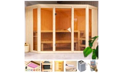 KARIBU Sauna »Cassidy«, 231x231x198 cm, in versch. Ausführungen kaufen