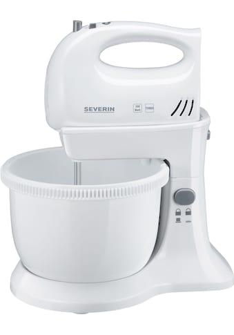 Severin Handmixer SM 3810 mit Tischständer und angetriebener Rührschüssel, 300 Watt kaufen