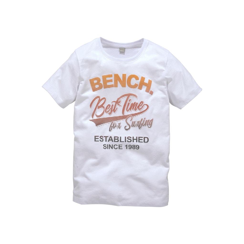 Bench. T-Shirt »BEST TIME«