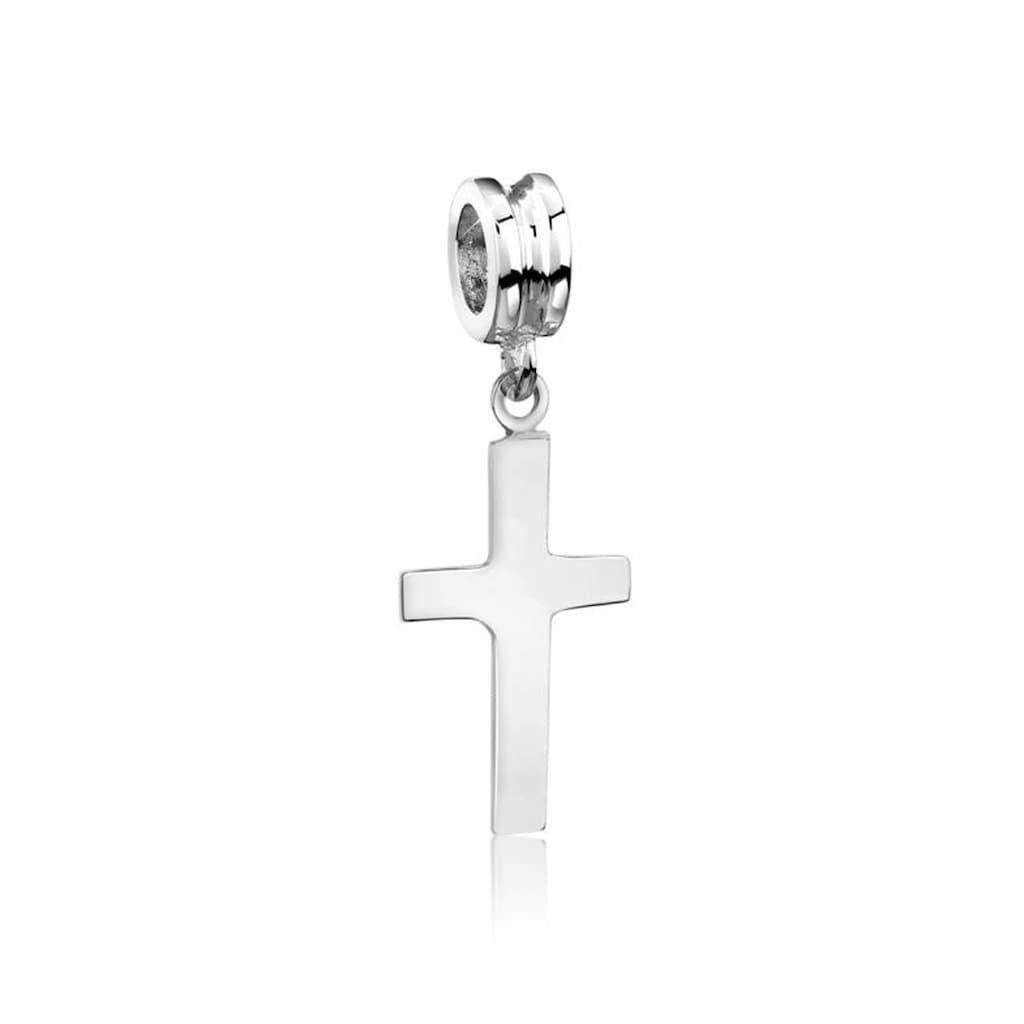 Nenalina Bead »Bead Kreuz Symbol Anhänger Kommunion 925 Silber«