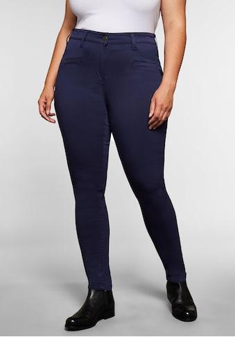 Sheego Stretch-Hose, superelastisch, vorne höherer Bund kaufen
