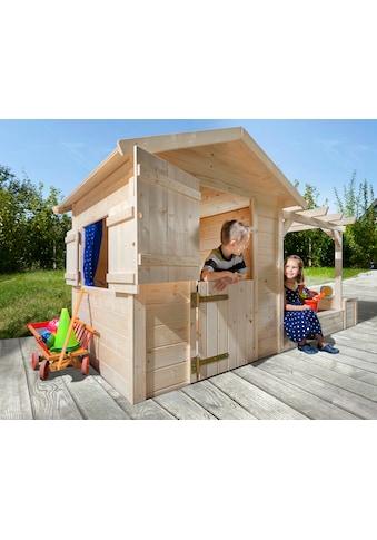 WEKA Spielhaus »Tabaluga«, BxT: 286x153 cm, inkl. Sandkasten/Pergola kaufen