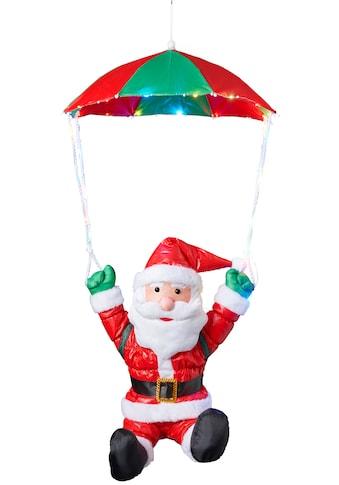 BONETTI,LED Dekofigur»Weihnachtsmann mit Fallschirm«, kaufen
