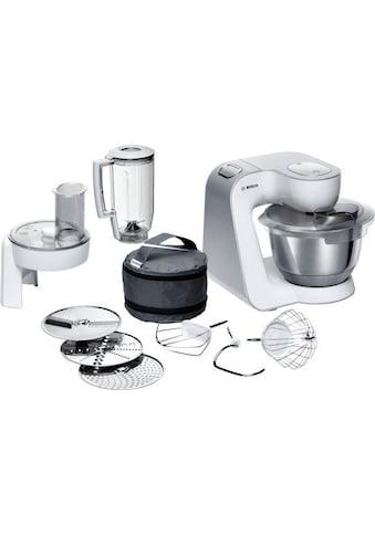 BOSCH Küchenmaschine CreationLine MUM58W20, 1000 Watt, Schüssel 3,9 Liter kaufen