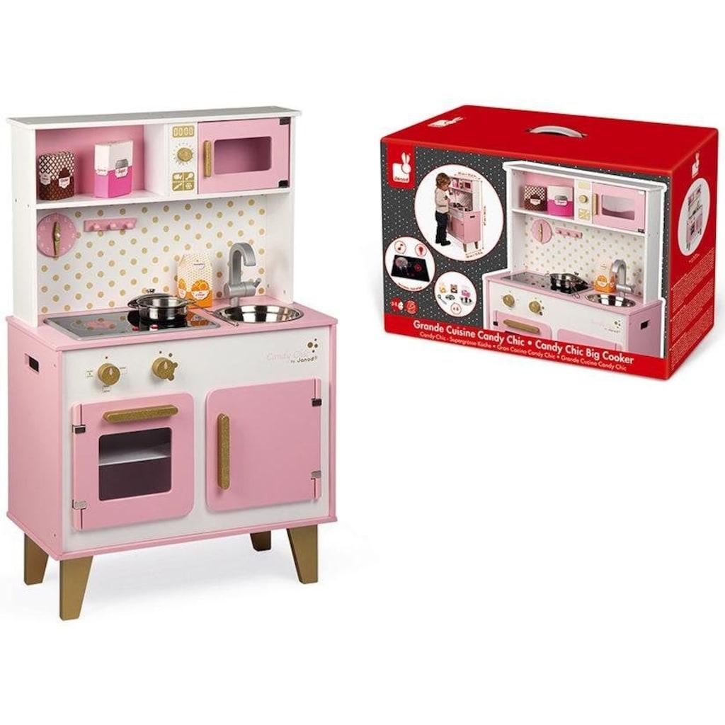 Janod Spielküche »Candy Chic«, mit Licht und Sound