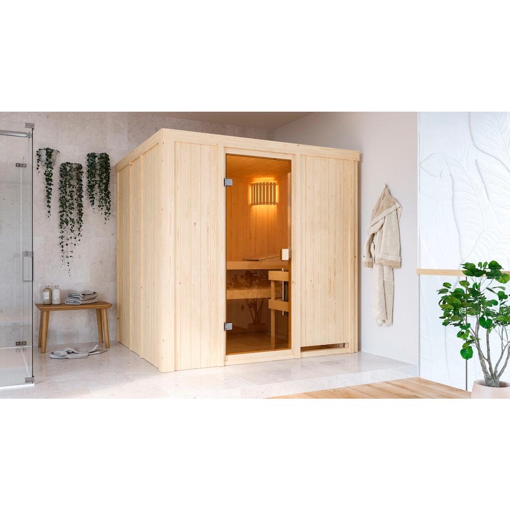 Karibu Sauna »Gelsa«, ohne Ofen