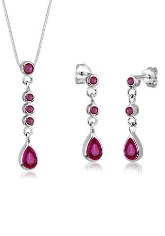 Elli Collierkettchen »925 Silber synthetische Rubine« kaufen