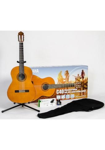 Yamaha Konzertgitarre »C40 Performance Pack 4/4«, 4/4 kaufen