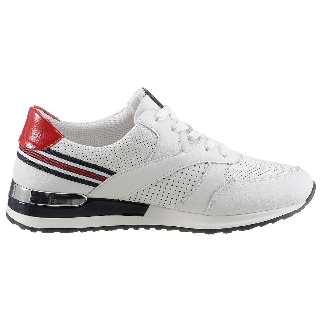 Remonte Sneaker, mit feiner Perforation