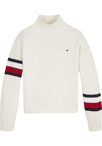 Tommy Hilfiger Strickpullover »CHUNKY CABLE MOCK NECK« kaufen