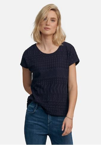 Peter Hahn T-Shirt »Rundhals-Shirt«, mit Ziernähten kaufen