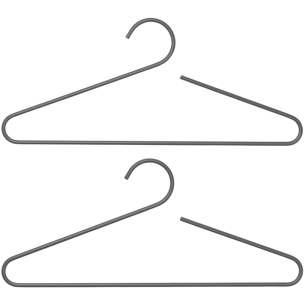 BLOMUS Kleiderbügel »Set 2 Garderobenbügel -CURL- Steel Gray«