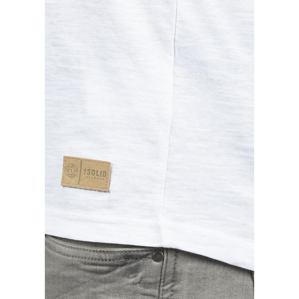 Solid Tanktop »Isaak«, ärmelloses Shirt mit Inka Print
