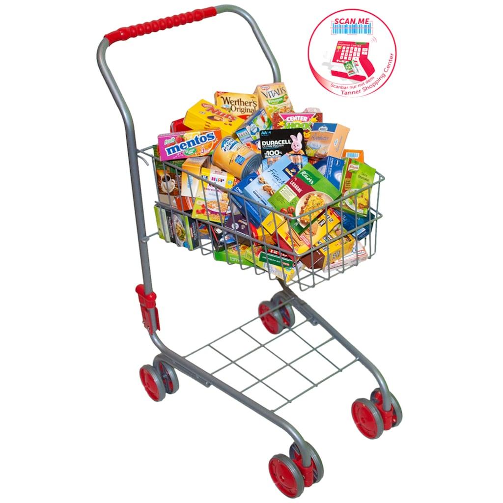 Tanner Spiel-Einkaufswagen, mit 40-teiligem Zubehör