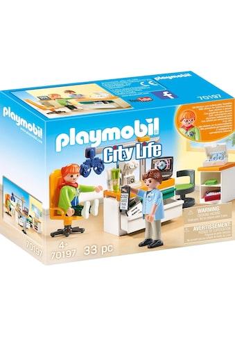 "Playmobil® Konstruktions - Spielset ""Beim Facharzt: Augenarzt (70197), City Life"", Kunststoff, (33 - tlg.) kaufen"
