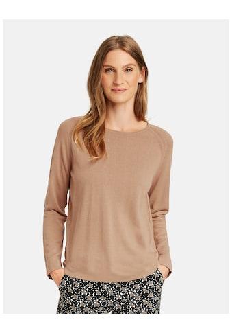 GERRY WEBER Rundhalspullover »Pullover mit Raglanarm« kaufen