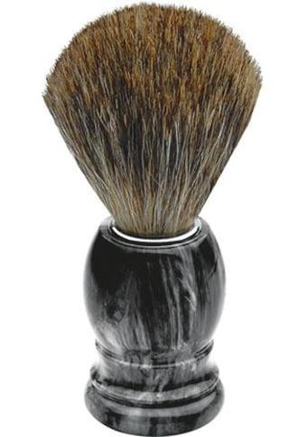 ERBE Rasierpinsel, Dachshaar, grau marmoriert kaufen