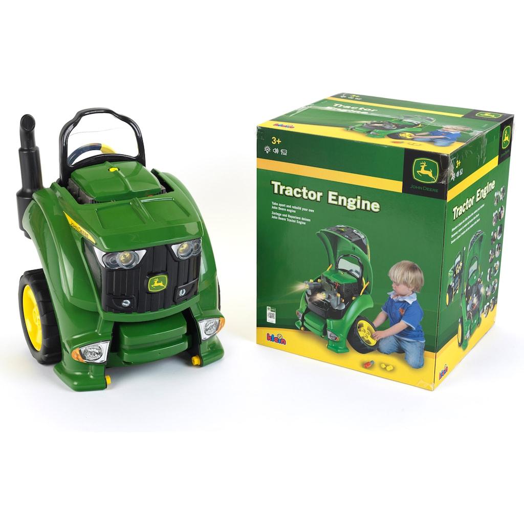 Klein Kinder-Montagetraktor »John Deere Tractor Engine«