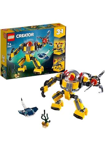 LEGO® Konstruktionsspielsteine »Unterwasser-Roboter (31090), LEGO® Creator«, (207... kaufen