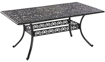 MERXX Gartentisch »Athos«, Aluminiumguss, 180x105 cm kaufen