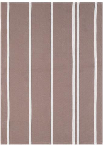 stuco Geschirrtuch »Streifen«, (Set, 3 tlg.), mit jacquardartiger Streifenwebung kaufen