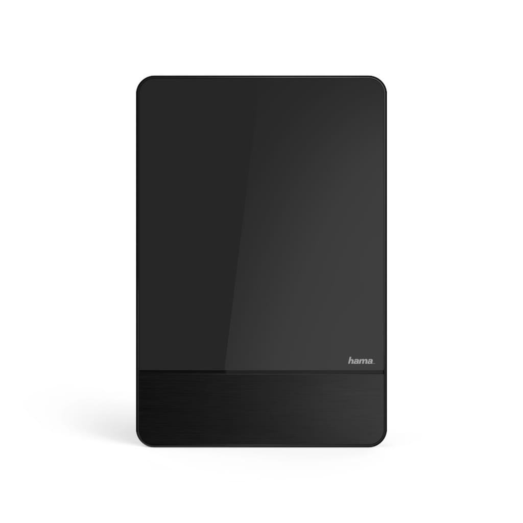 Hama DVB-T/DVB-T2 Zimmerantenne, Performance 45, flach, aktiv