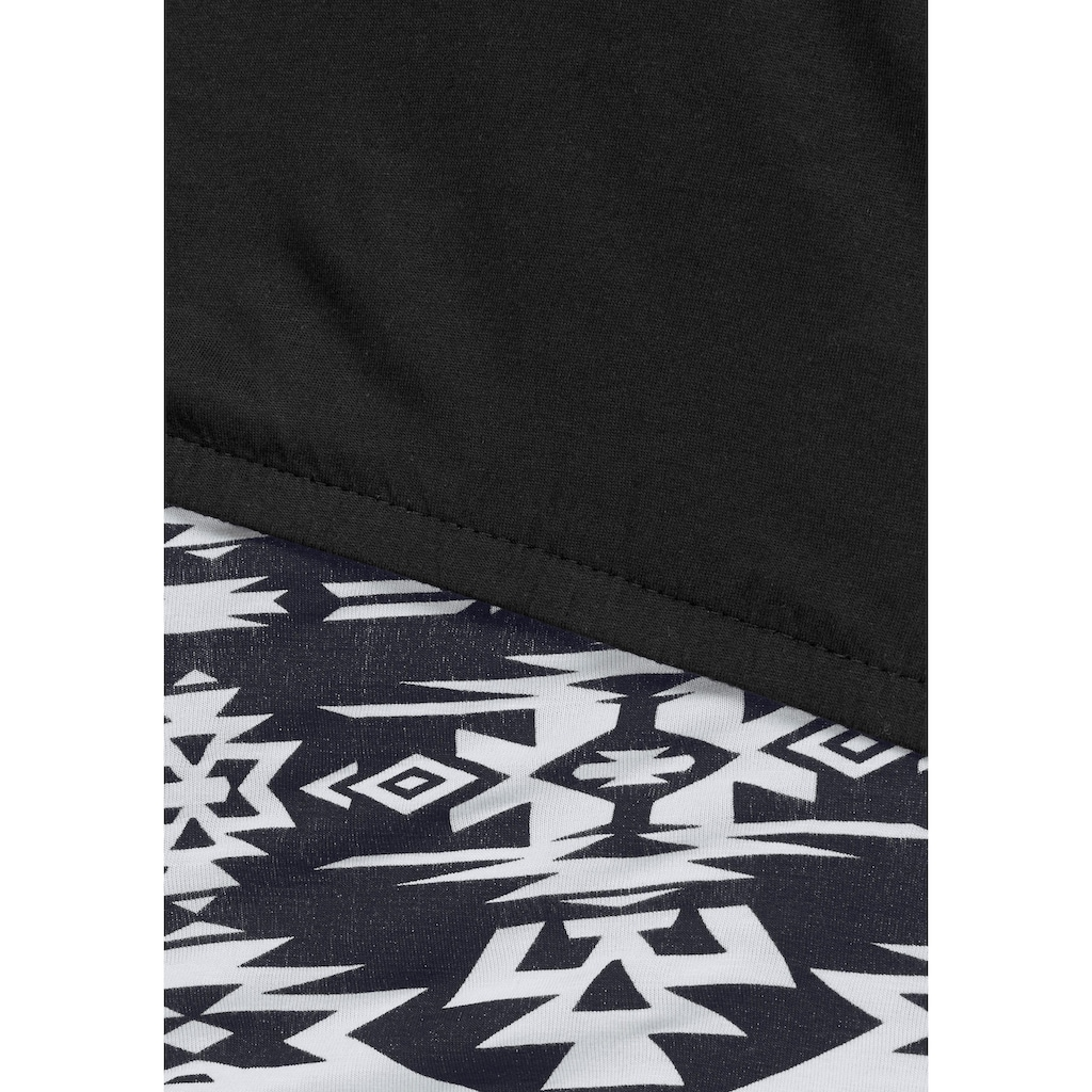 AJC Jerseykleid, (2 tlg.), in der Doppelpackung Kleid mit Shirt