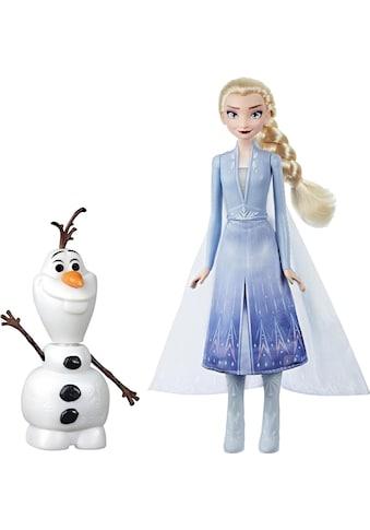 """Hasbro Anziehpuppe """"Die Eiskönigin II, Magischer Spielspaß mit Elsa & Olaf"""" kaufen"""