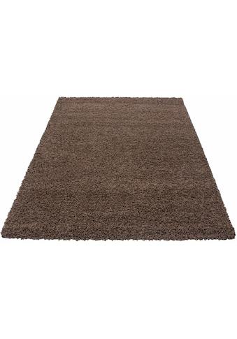 Ayyildiz Hochflor-Teppich »Dream Shaggy«, rechteckig, 50 mm Höhe, Wohnzimmer kaufen