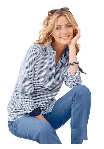 Casual Looks Bluse mit leicht abgerundetem Saum kaufen