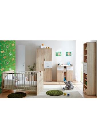 Ticaa Babyzimmer-Komplettset »Nico«, (Set, 3 St.), Bett + Wickelkommode + Schrank kaufen