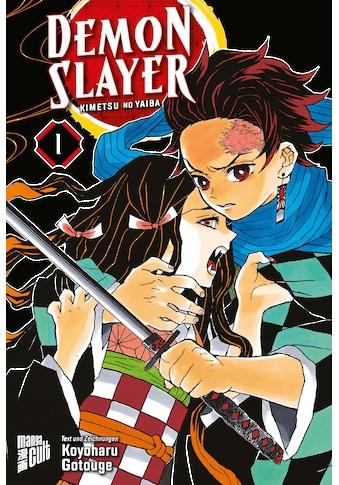 Buch »Demon Slayer 1 / Koyoharu Gotouge, Burkhard Höfler« kaufen