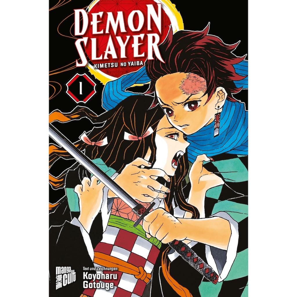 Buch »Demon Slayer 1 / Koyoharu Gotouge, Burkhard Höfler«