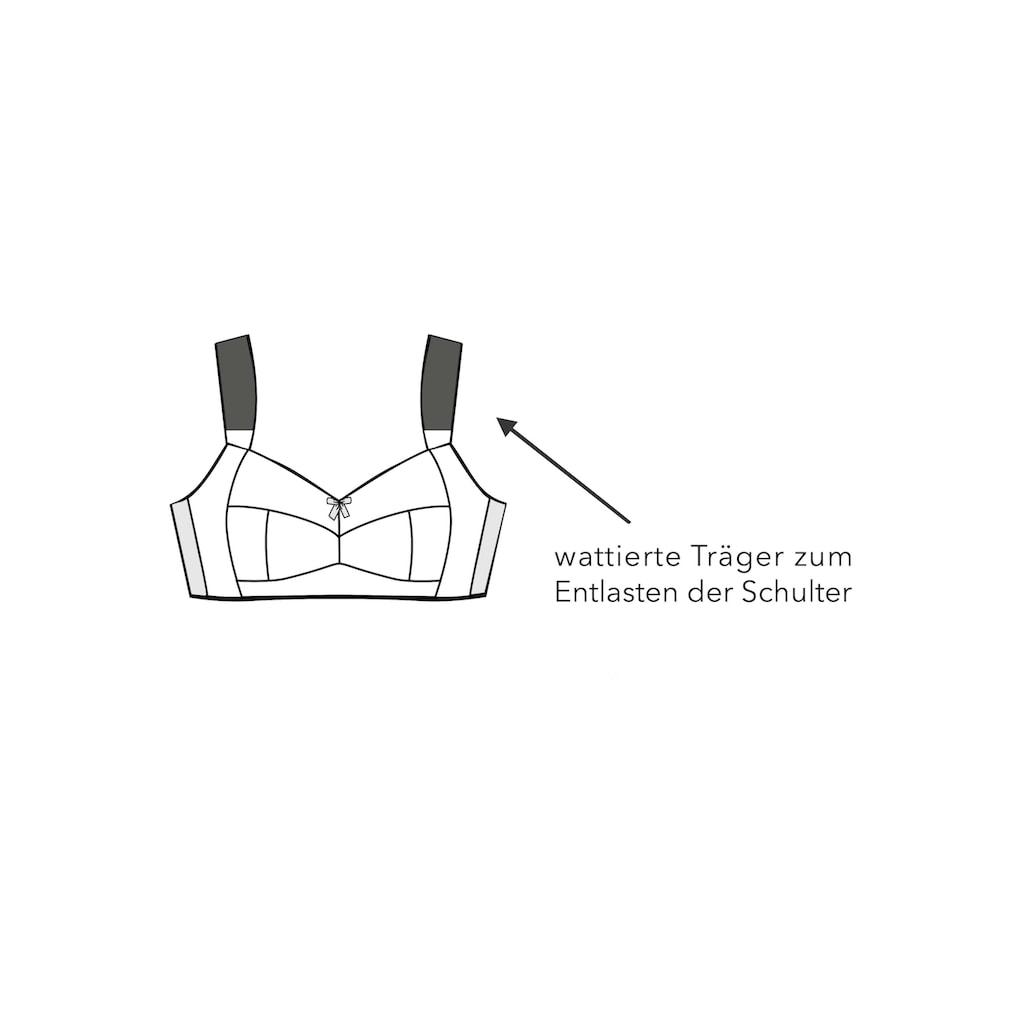 Sheego Bügelloser BH, mit leicht transparenter Spitze
