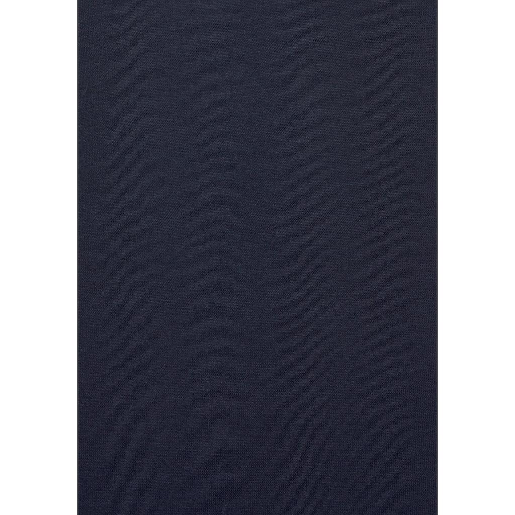 Bench. Kapuzensweatjacke »Contrast«, mit Reißverschlusstasche am Ärmel