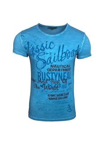 Rusty Neal T-Shirt mit coolem Frontprint kaufen