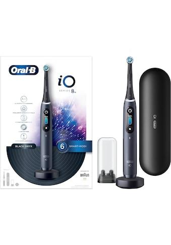 Oral B Elektrische Zahnbürste »iO Series 8N«, 1 St. Aufsteckbürsten, Magnet-Technologie kaufen